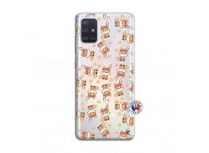 Coque Samsung Galaxy A51 Petits Renards