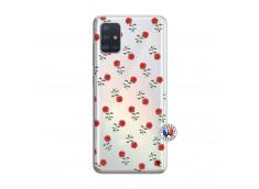 Coque Samsung Galaxy A51 Rose Pattern
