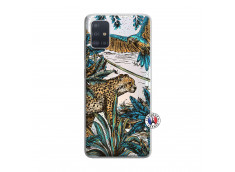 Coque Samsung Galaxy A51 Leopard Jungle
