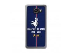 Coque Samsung Galaxy A5 Champions Du Monde 1998 2018 Transparente