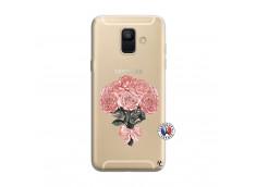Coque Samsung Galaxy A6 2018 Bouquet de Roses