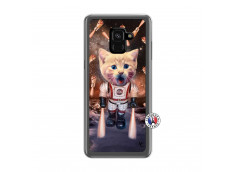 Coque Samsung Galaxy A6 2018 Cat Nasa Translu