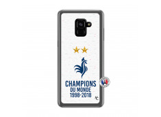 Coque Samsung Galaxy A6 2018 Champion Du Monde Translu