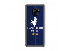 Coque Samsung Galaxy A6 2018 Champions Du Monde 1998 2018 Transparente