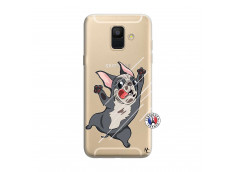 Coque Samsung Galaxy A6 2018 Dog Impact