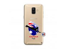 Coque Samsung Galaxy A6 2018 Coupe du Monde Rugby-Australia