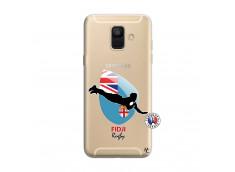 Coque Samsung Galaxy A6 2018 Coupe du Monde Rugby Fidji