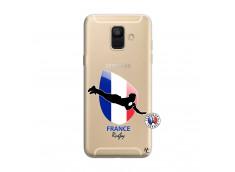 Coque Samsung Galaxy A6 2018 Coupe du Monde de Rugby-France
