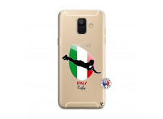 Coque Samsung Galaxy A6 2018 Coupe du Monde Rugby-Italy