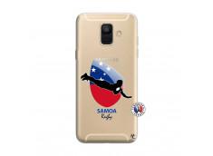 Coque Samsung Galaxy A6 2018 Coupe du Monde Rugby-Samoa