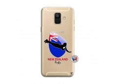 Coque Samsung Galaxy A6 2018 Coupe du Monde Rugby- Nouvelle Zélande