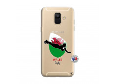 Coque Samsung Galaxy A6 2018 Coupe du Monde Rugby-Walles