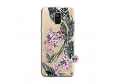 Coque Samsung Galaxy A6 2018 Flower Birds