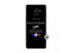 Coque Samsung Galaxy A6 2018 Frappe De Batard Comme Benjamin
