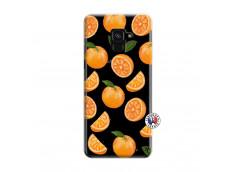 Coque Samsung Galaxy A6 2018 Orange Gina