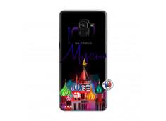 Coque Samsung Galaxy A6 2018 I Love Moscow
