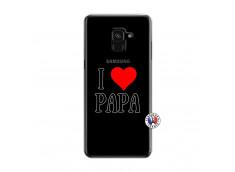 Coque Samsung Galaxy A6 2018 I Love Papa