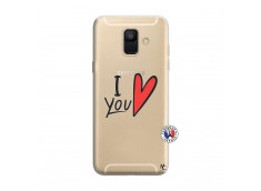 Coque Samsung Galaxy A6 2018 I Love You