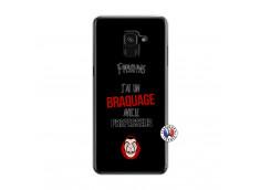 Coque Samsung Galaxy A6 2018 J Peux Pas J Ai Un Braquage Avec Le Professeur
