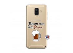 Coque Samsung Galaxy A6 2018 Jamais Sans Ma Brune