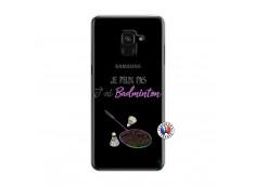 Coque Samsung Galaxy A6 2018 Je Peux Pas J Ai Badminton