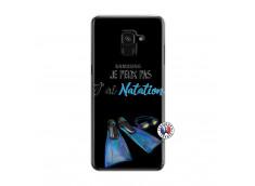 Coque Samsung Galaxy A6 2018 Je Peux Pas J Ai Natation
