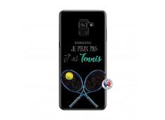 Coque Samsung Galaxy A6 2018 Je Peux Pas J Ai Tennis