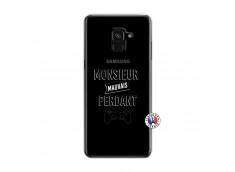 Coque Samsung Galaxy A6 2018 Monsieur Mauvais Perdant