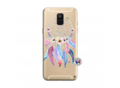 Coque Samsung Galaxy A6 2018 Multicolor Watercolor Floral Dreamcatcher