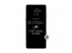 Coque Samsung Galaxy A6 2018 Oh Putain C Est L Heure De L Apero