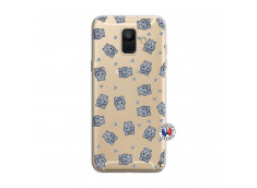 Coque Samsung Galaxy A6 2018 Petits Hippos