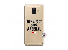 Coque Samsung Galaxy A6 2018 Rien A Foot Allez Arsenal