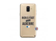 Coque Samsung Galaxy A6 2018 Rien A Foot Allez Auxerre