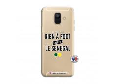 Coque Samsung Galaxy A6 2018 Rien A Foot Allez Le Senegal