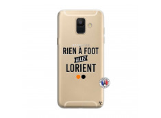Coque Samsung Galaxy A6 2018 Rien A Foot Allez Lorient
