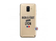 Coque Samsung Galaxy A6 2018 Rien A Foot Allez Lyon