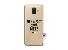 Coque Samsung Galaxy A6 2018 Rien A Foot Allez Metz