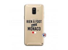 Coque Samsung Galaxy A6 2018 Rien A Foot Allez Monaco