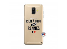 Coque Samsung Galaxy A6 2018 Rien A Foot Allez Rennes