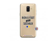 Coque Samsung Galaxy A6 2018 Rien A Foot Allez Sochaux