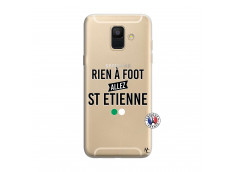 Coque Samsung Galaxy A6 2018 Rien A Foot Allez St Etienne