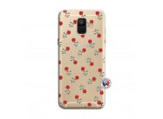 Coque Samsung Galaxy A6 2018 Rose Pattern