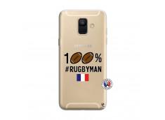 Coque Samsung Galaxy A6 2018 100% Rugbyman