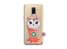 Coque Samsung Galaxy A6 2018 Catpucino Ice Cream
