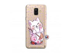 Coque Samsung Galaxy A6 2018 Smoothie Cat