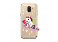 Coque Samsung Galaxy A6 2018 Sweet Baby Licorne