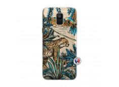 Coque Samsung Galaxy A6 2018 Leopard Jungle