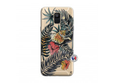 Coque Samsung Galaxy A6 2018 Leopard Tree