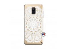 Coque Samsung Galaxy A6 2018 White Mandala