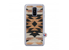 Coque Samsung Galaxy A6 Plus Aztec Translu